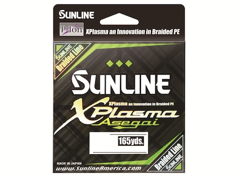 Sunline Xplasma Asegai Braided Fishing Line
