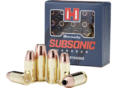 Hornady Subsonic Ammunition 45 ACP 230 Grain XTP Jacketed Hollow Point Box of 20
