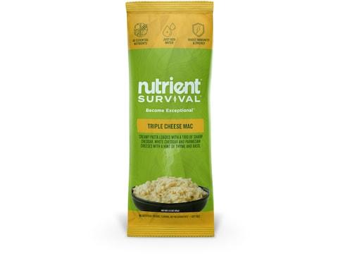 Nutrient Survival Triple Cheese Mac Freeze Dried Food