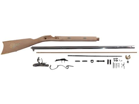 "Traditions Mountain Muzzleloading Rifle Kit 50 Caliber Flintlock 32"" Barrel Hardwood St..."