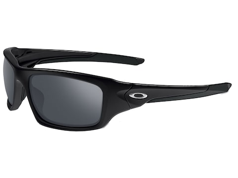 Oakley Valve Sunglasses Polished Black Frame/Black Iridium Lens