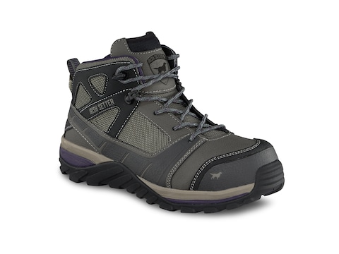 "Irish Setter Rockford 5"" Non-Metallic Safety Toe Hiker Style Work Boots Women's"