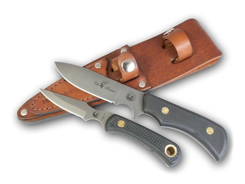 Knives of Alaska Trekker Elk Hunter/Cub Bear Combination Fixed Blade Knife Set D2 Tool ...