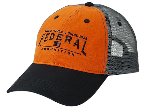 Federal Premium Made In The USA Cap Orange/Black