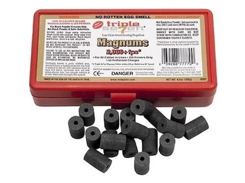 Hodgdon Triple Seven Black Powder Substitute 50 Caliber Magnum 60 Grain Pellets Package...