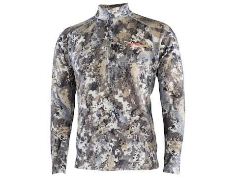 Sitka Gear Men's Core Heavyweight Zip Long Sleeve Shirt Polyester