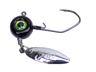 Jenko Fishing Slasher Spin Jig 1/32oz Swimbait Jighead Black