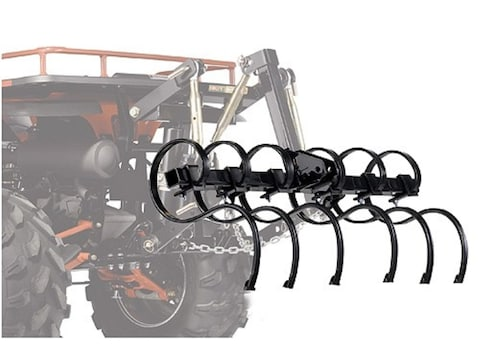 "Kolpin DirtWorks ATV Cultivator Set for 48"" Tool Bar Steel Black"