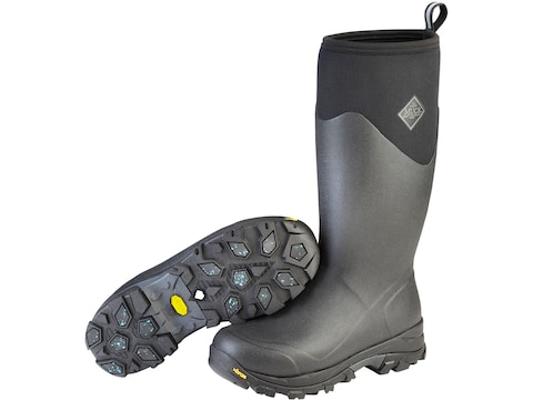 "Muck Arctic Ice 16"" Hunting Boots Neoprene/Rubber Black Men's"