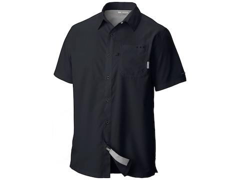 Columbia Men's PFG Slack Tide Camp Short Sleeve Shirt Polyester