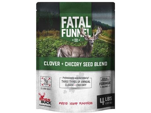 Boss Buck Clover and Chicory Food Plot Seed 4 lb
