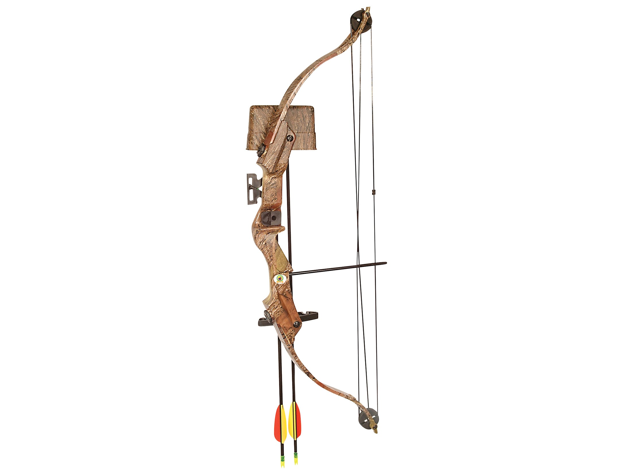 Arrow Precision Buck Youth Bow Package 20 lb 22 Draw Length Oak Grove