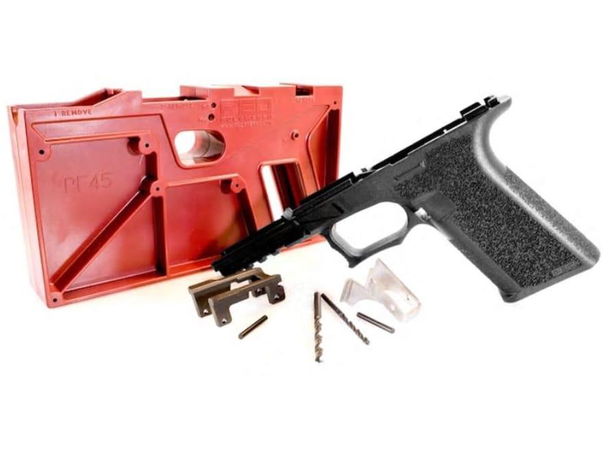 Polymer80 PF45 Full Size 80% Pistol Frame Kit Glock 20SF, 21SF Polymer