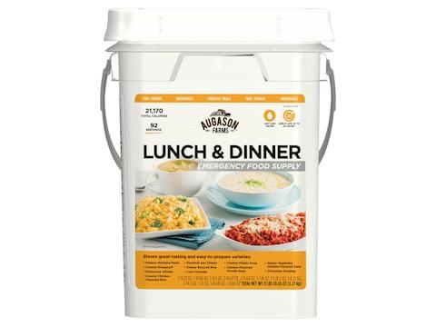 Augason Farms Lunch & Dinner Emergency Food Supply 11 lbs