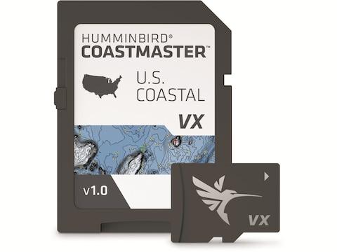 Humminbird LakeMaster Map Card COASTMASTER - U.S. COASTAL V1