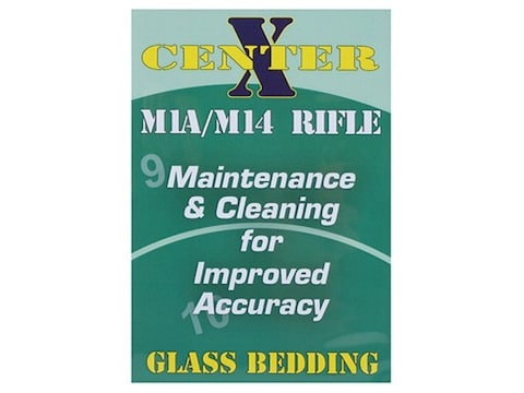 """Gun Video """"Center X: Glass Bedding M1A/M14 Rifle"""" DVD"""