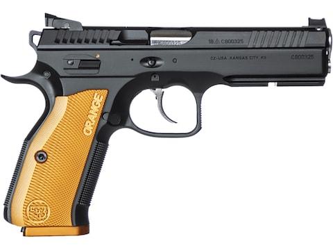 "CZ-USA CZ 75 Shadow 2 Orange 9mm Luger Semi-Automatic Pistol 4.9"" Barrel 17-Round"
