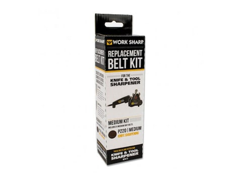 Work Sharp Medium P220 Grit Belt Accessory Kit