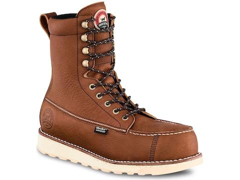 """Irish Setter Wingshooter ST 8"""" Non-Metallic Safety Toe Work Boots Men's"""