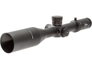 Trijicon Tenmile Rifle Scope 34mm Tube 4.5-30x 56mm Illuminated Red/Green MOA Long Range Reticle Exposed Elevation with Return to Zero Turret Matte