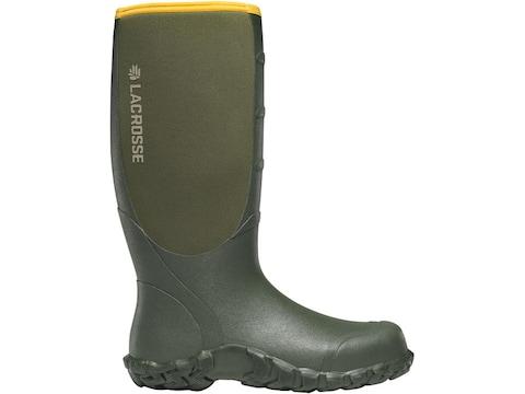 "LaCrosse 5mm Alpha Lite 16"" Hunting Boots Rubber Over Neoprene Men's"