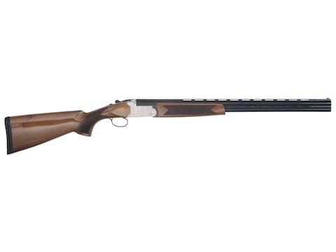 Tristar Setter O/U Shotgun Silver Receiver, Walnut Stock