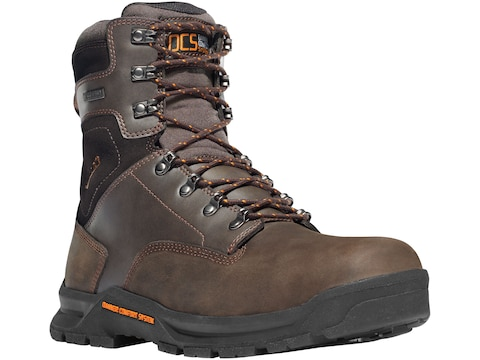 """Danner Crafter 8"""" Non-Metallic Toe Work Boots Leather Men's"""
