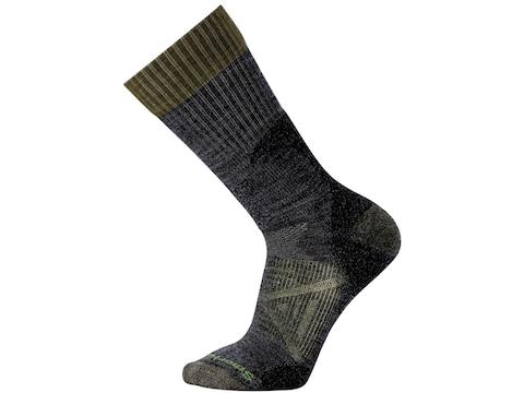 Smartwool Men's PhD Hunt Light Crew Socks Merino Wool/Nylon