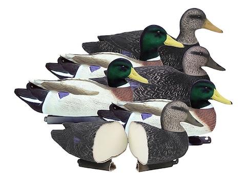 Higdon Battleship Powers' Pack Foam Filled Duck Decoy Polymer Pack of 6