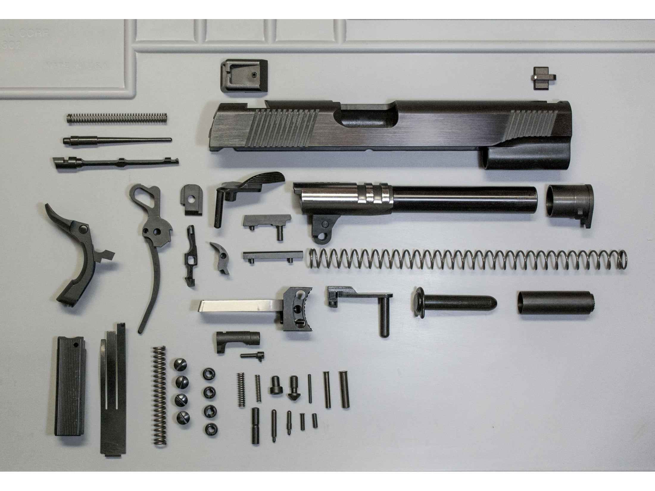 Metro Arms Complete 1911 Government Parts Kit Blue