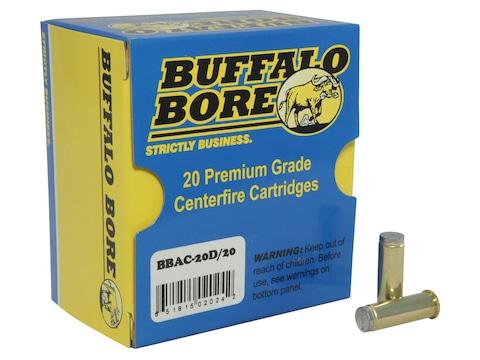 Buffalo Bore Ammunition 38 Special 150 Grain Lead Wadcutter Box of 20