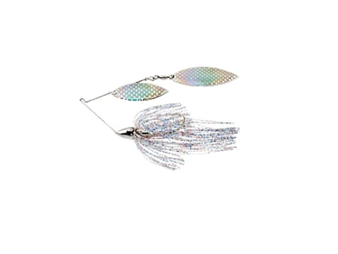 War Eagle Nickel Frame Double Willow Spinnerbait