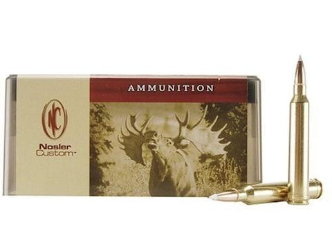 Nosler Custom Ammunition 7mm STW 140 Grain AccuBond Spitzer Box of 20