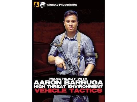 "Panteao ""Make Ready with Aaron Barruga: High Threat Environment Vehicle Tactics"" DVD"