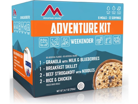 Mountain House Just in Case 2-Day Emergency Kit Freeze Dried Food 12 Serving