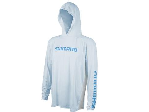 Shimano Men's Hooded Long Sleeve Tech Shirt