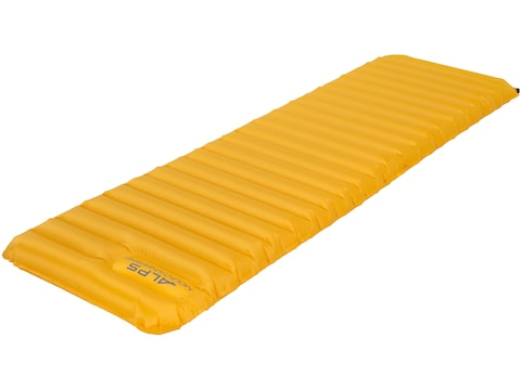 ALPS Mountaineering Featherlite Series Inflatable Air Mattress Nylon Ripstop Yellow