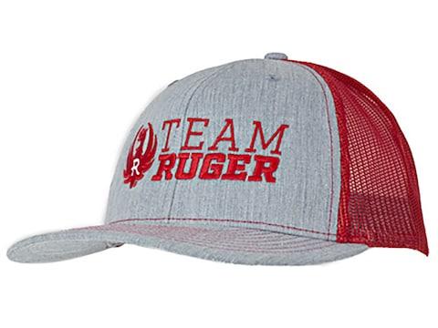 Ruger Team Logo Meshback Trucker Cap