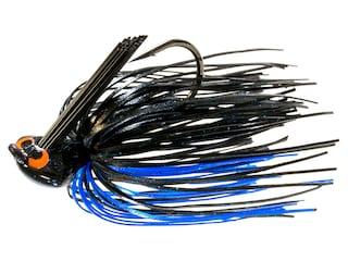 Z-Man Crosseyez Flipping Jig Black/Blue 3/8 oz