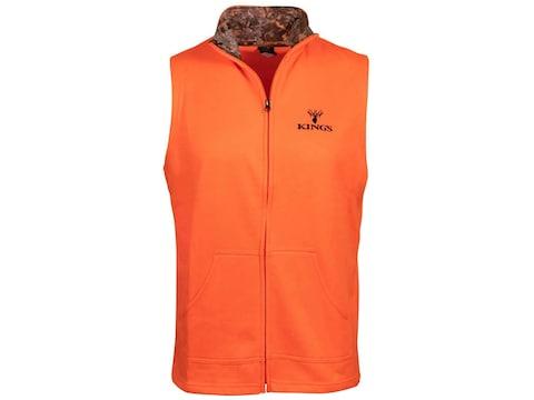 King's Camo Men's Full Zip Vest Polyester