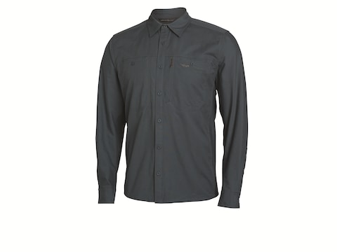 Sitka Gear Men's Harvester Button-Up Long Sleeve Shirt Cotton/Poly Blend