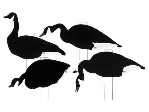 Lucky Duck Hi Vis Silhouette Goose Decoy Pack of 12