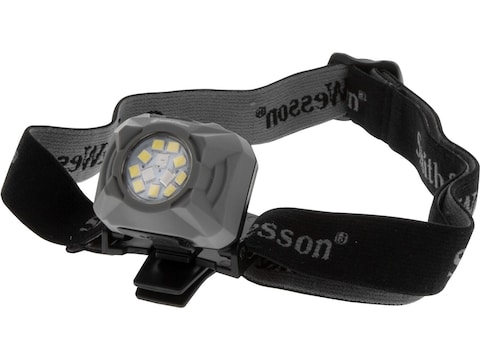 Smith & Wesson Night Guard Quad Beam RXP Headlamp LED with Rechargeable Lithium Battery...