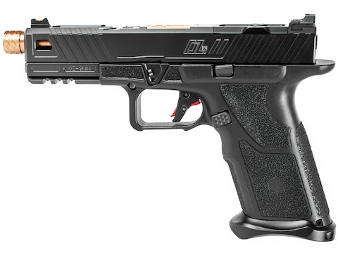 "ZEV Technologies OZ9 Standard Pistol 9mm Luger 4.97"" Barrel Threaded 17-Round Black Sli..."