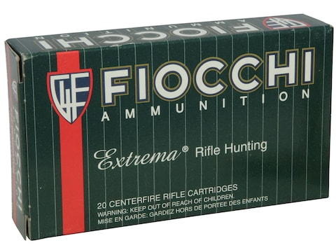 Fiocchi Extrema Ammunition 270 Winchester 130 Grain Swift Scirocco II Box of 20