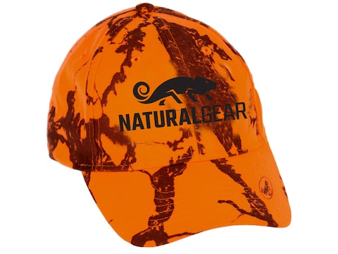 Natural Gear 6 Panel Cap