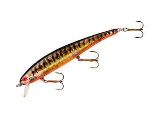 Bomber Long A Jerkbait Gold Prism Black Back & Bars Orange Belly