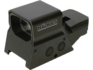 Konus SightPro R-8 Red Dot Sight 1x Adjustable Reticle Rechargeable Battery with Dual Mounting System Matte