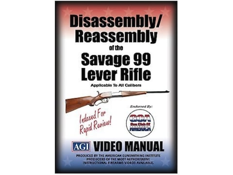 """American Gunsmithing Institute (AGI) Disassembly and Reassembly Course Video """"Savage Ar..."""