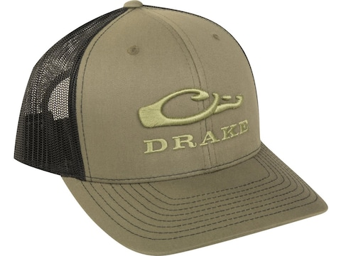 Drake Men's Logo Mesh Back Cap Cotton